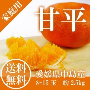 ■品種:愛媛県オリジナルブランド「 甘平」  ■商品内容: 贈答用向き 1箱 化粧箱 約3.0kg ...