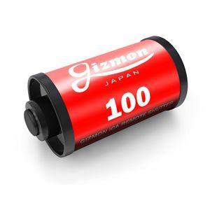 カメラリモートシャッター AGFAカラー GIZMON ギズモン GIZ-ICARS-A レッド カメラフィルム型の小型リモートシャッター|ichibankanshop