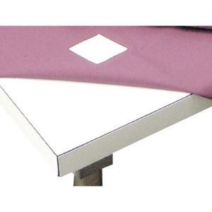 テーブルクロス用ズレ防止シール N-07 4×4cm 4枚入り(同梱・代引き不可)|ichibankanshop