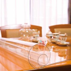 日本製 透明テーブルマット(1mm厚) 約900×1200長 TC1-129(同梱・代引き不可)|ichibankanshop