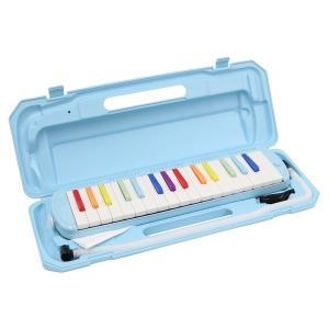 カラフル32鍵盤ハーモニカ MELODY PIANO P3001-32K NIJI/虹色(同梱・代引不可)|ichibankanshop