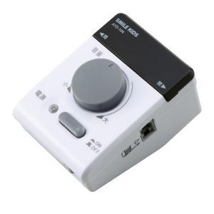電話の拡声器3/電話専用拡声器 〔受話音量:最大30倍〕 簡単取り付け(同梱・代引不可) ichibankanshop