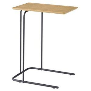 アーロン サイドテーブル スチール脚を使用したサイドテーブルEND-222NAW35xD47xH60 代引不可 同梱不可|ichibankanshop