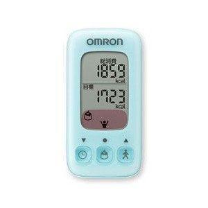 毎日のダイエット努力をお知らせ オムロン (OMRON) 活動量計 Calori Scan カロリスキャン HJA-310-B ブルー|ichibankanshop