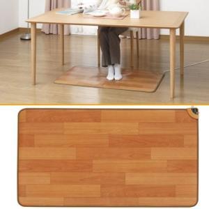 ホットテーブルマット 110×60cm フローリングタイプ マット テーブルマット ホットマット テーブル 防水 防水表面材 sugiyama 杉山紡織|ichibankanshop