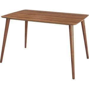テーブル  ダイニングテーブル TAC-242WAL シンプルで使いやすい北欧デザイン 代引不可 同梱不可|ichibankanshop
