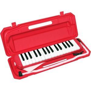 カラフル32鍵盤ハーモニカ MELODY PIANO P3001-32K レッド(同梱・代引不可)|ichibankanshop