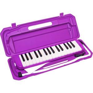 カラフル32鍵盤ハーモニカ MELODY PIANO P3001-32K パープル(同梱・代引不可)|ichibankanshop