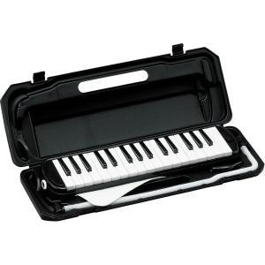 カラフル32鍵盤ハーモニカ MELODY PIANO P3001-32K ブラック(同梱・代引不可)|ichibankanshop