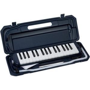 カラフル32鍵盤ハーモニカ MELODY PIANO P3001-32K ネイビー(同梱・代引不可)|ichibankanshop