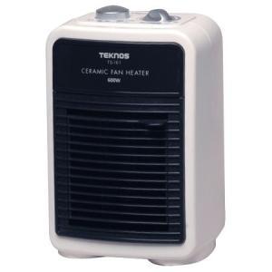 送料無料 温風による循環暖房効果 小さいけど本格派ヒーター TEKNOS(テクノス) ミニセラミックヒーター 600W TS-161|ichibankanshop