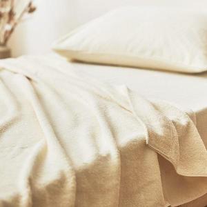 泉州タオル オーガニックコットンタオルケット シングル 150×205cm 綿100%|ichida-kyoto