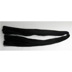 スガ糸(正絹) 黒     絹 シルク 100% 人形用 髪の毛 すがいと スガイト すが糸 ドールヘアー 手芸用 日本人形 木目込人形 人形の髪の毛|ichifuji-store