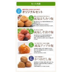 梅干し お試しセット(60g×4) 食べ比べ ...の詳細画像4