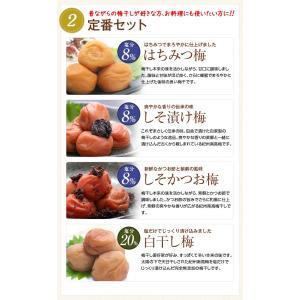 梅干し お試しセット(60g×4) 食べ比べ ...の詳細画像5