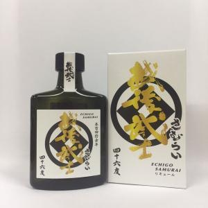 越後武士 さむらい 180ml ポケット瓶|ichigou-sake