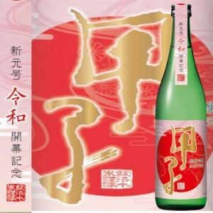 飯沼本家 甲子 純米吟醸 令和 720ml|ichigou-sake