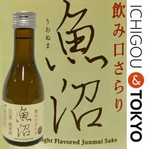日本酒 純米 淡麗 魚沼 180ml|ichigou-sake