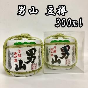 日本酒 男山 ミニ樽 豆樽 菰樽 300ml|ichigou-sake