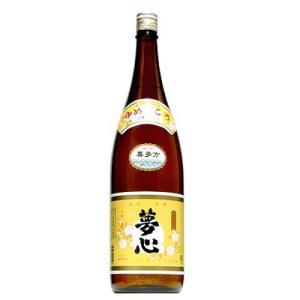 【夢心酒造】夢心 会津金印 1800ml|ichiishop