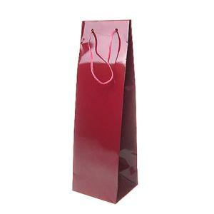 ギフトバッグ ワイン 日本酒 750ml 四合瓶1本用 ブライトバック ※箱入りボトルは入りません|ichiishop