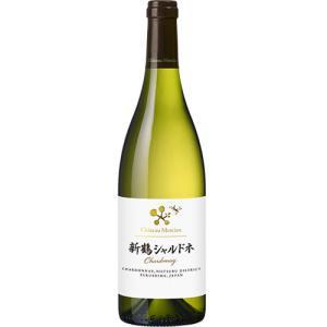 白ワイン 辛口 シャトー メルシャン 新鶴シャルドネ 750ml 日本 福島 ギフト プレゼント(4973480325559) ワイン紀行