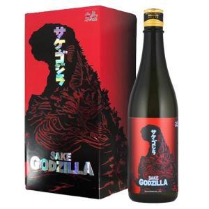 ゴジラ 日本酒 純米大吟醸 人気酒造 サケ・ゴジラ 720ml 福島県|ichiishop