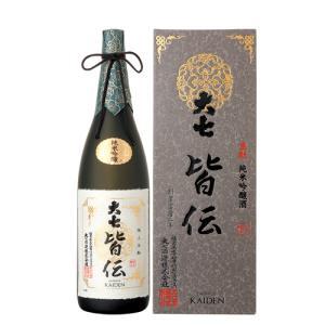 日本酒 大七酒造 純米生もと吟醸 皆伝  純米吟醸 1800ml かいでん|ichiishop