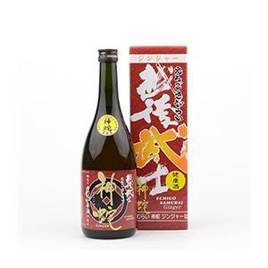 【玉川酒造】越後武士(えちごさむらい) 神蛇 ジンジャー 720ml 12度|ichiishop