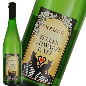 白ワイン やや甘口 フロイデ ツェラー シュヴァルツェ カッツ Q.b.A.750ml ドイツ ネコ ねこ 猫 ichiishop