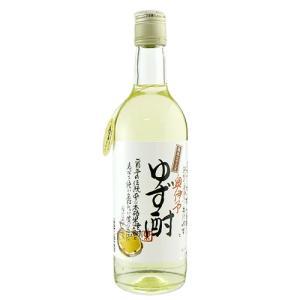 【栄光酒造】蔵元のゆず酎 500ml 本格米焼酎ベース ゆずリキュール|ichiishop