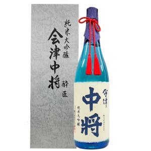 日本酒 鶴の江酒造 会津中将 純米大吟醸 酔匠 1800ml 福島 鶴乃江|ichiishop