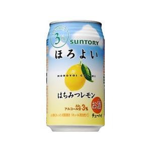 【サントリー】ほろよい〈はちみつレモン〉 350ml×24缶 1ケース|ichiishop