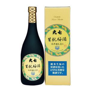 大七酒造 生もと梅酒 720ml|ichiishop