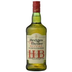 ヘッジス&バトラー 5年 ブレンデッド スコッチ ウイスキー H&B 700ml イギリス 40度|ichiishop