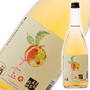 食べるフルーツリキュール 子宝 完熟南高梅酒 楯の川酒造 山形のお酒 720ml|ichiishop