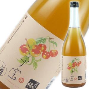 食べるフルーツリキュール 子宝 さくらんぼ梅酒 楯の川酒造 山形のお酒 720ml|ichiishop