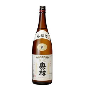 奥の松酒造 上撰 本醸造 1800ml|ichiishop