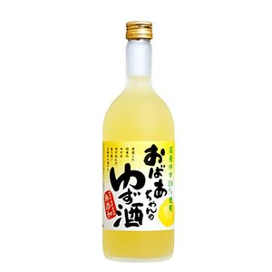 【中埜酒造】國盛 おばあちゃんのゆず酒 720ml 日本産リキュール|ichiishop