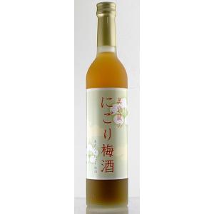 【麻原酒造】麻原 奥武蔵のにごり梅酒 500ml リキュール|ichiishop
