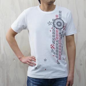 L【久米繊維謹製 蔵印Tシャツ】切子 メンズLサイズ|ichiishop