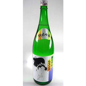 【亀の井酒造】【要冷蔵】くどき上手 純米吟醸 1800ml  山形の日本酒|ichiishop