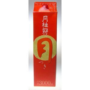 【月桂冠】月パック 3000ml 【8個まで1個口配送可能】|ichiishop