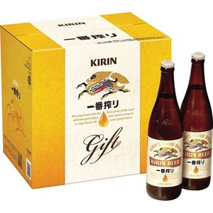 お歳暮 御歳暮 ギフト プレゼント 2019 ビールセット キリン 一番搾りセット 大瓶12本セット K-ISB12 送料無料|ichiishop