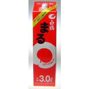 【白鶴酒造】白鶴 まる 酒パック 3000ml 【8個まで1個口配送可能】|ichiishop