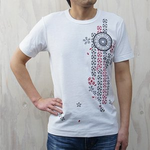 M【久米繊維謹製 蔵印Tシャツ】切子 メンズMサイズ|ichiishop