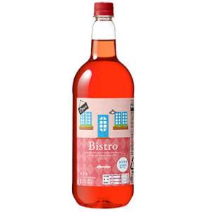 【メルシャン】 ビストロ ペットボトル  ロゼ 1500ml ワイン【12個まで1個口配送可能】|ichiishop