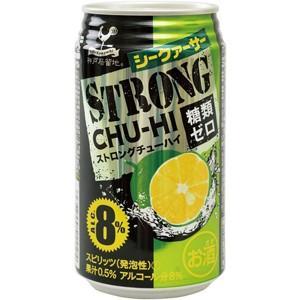 神戸居留地 ストロングチューハイ シークァーサー 糖類ゼロ 350ml×24本【ケース販売】|ichiishop