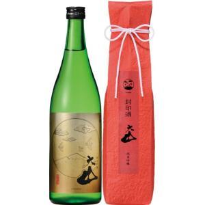 日本酒 純米吟醸 加藤嘉八郎酒造 大山 封印酒 720ml 山形 鶴岡|ichiishop