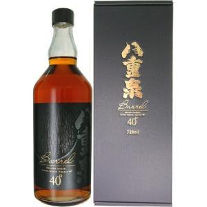 琉球 泡盛 八重泉酒造 八重泉 BARREL バレル 720ml 40度|ichiishop